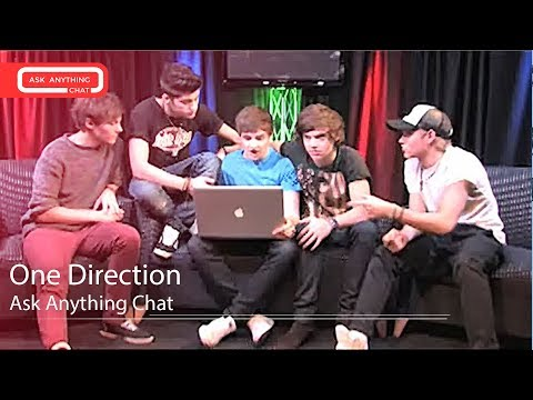 One Direction Answering Fan Questions On Ask Anything Chat W/ Romeo, SNOL ​​​  - AskAnythingChat