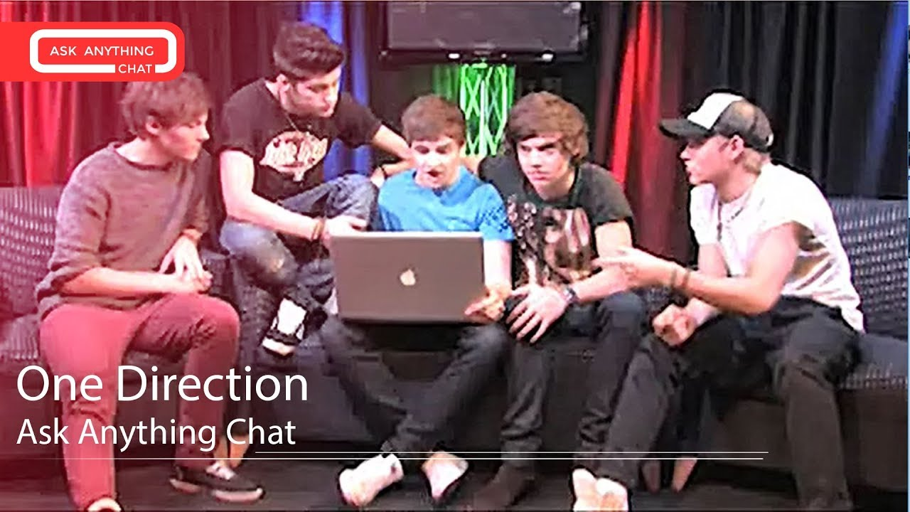 One Direction Answering Fan Questions On Ask Anything Chat w/ Romeo, SNOL -  AskAnythingChat