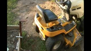 Simple Lawn Tractor Trailer Hitch