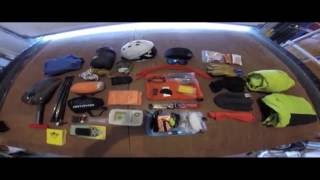Backcountry Snowboard/Ski - Pack and Gear Overview