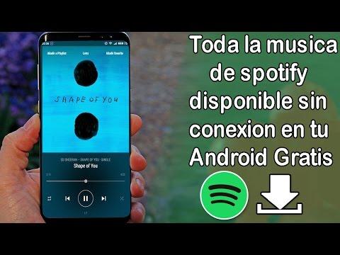 Descargar musica con maxima calidad desde Spotify con caratula 320 kbps Android-2017 gratis.