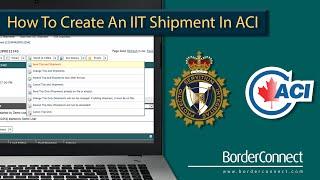 ACI içinde BorderConnect kullanarak YAKTI ve Kargo Muafiyetleri oluşturma