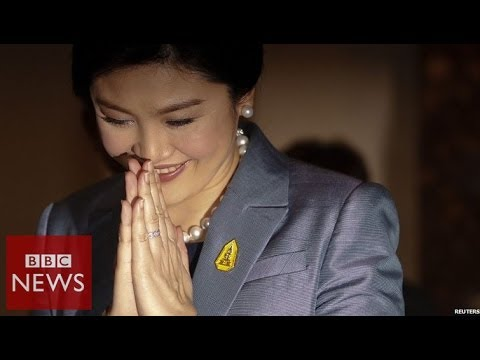 Thai Prime Minister Yingluck Shinawatra speaks at a