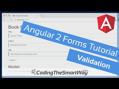 Angular 2 Forms Tutorial - Validation - CodingTheSmartWay
