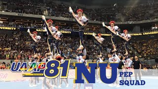 NU Pep Squad - 2018 UAAP Cheerdance Competition