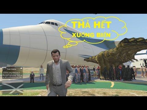 GTA 5 - Máy bay Cargo Plane Chở Được Bao Nhiêu Người?