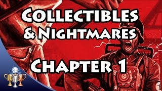 Wolfenstein The Old Blood Collectibles [Chapter 1 - Prison] Gold, Letters & Prison nightmare