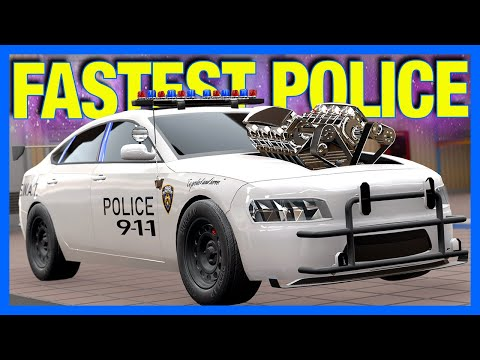 Building The World's Fastest Police Car in Automation & BeamNG
