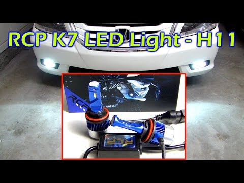 rcp-k7-led-bulb-review-and-install---h11
