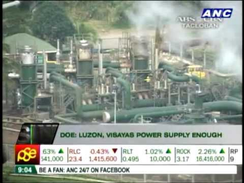 DOE: Power supply enough despite Bacman plant shutdown