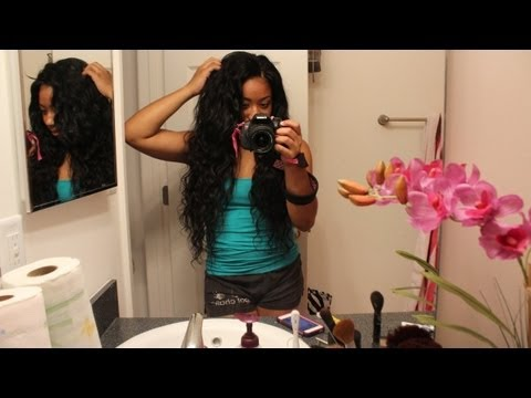 ❤ Quick Sneak Peek⎮Virgin Glam Arabian Wavy Hair⎮