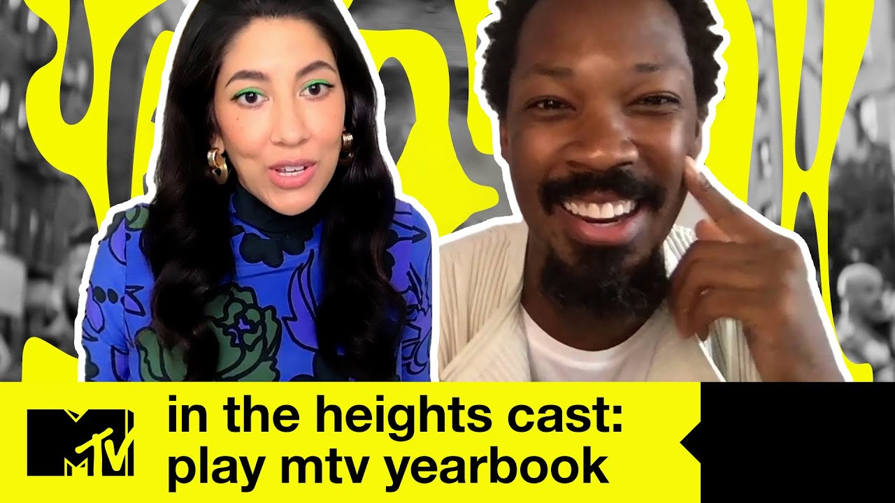 In The Heights cast on Anthony Ramos' inspiring speeches & on set fires | MTV Movies