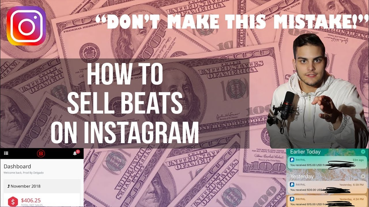 How to Effectively Sell Beats On Instagram 2019 | Guide To Selling Beats Online