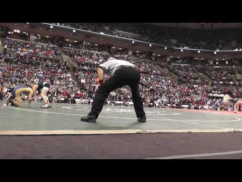 03-11-2017 OHSAA Wrestling Finals D2 120 lbs.