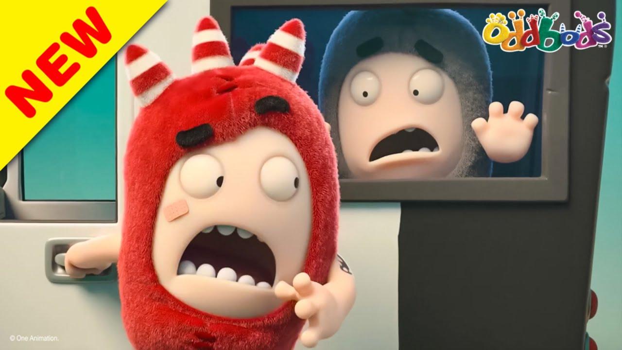 Oddbods | NEW | DETECTIVE ODD | Funny Cartoons For Kids