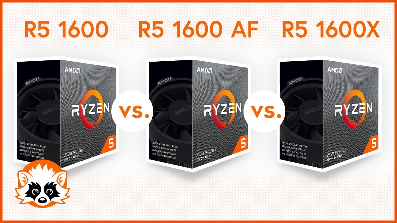 Amd R5 1600 Af Vs R5 2600x Vs R5 3600 Comparison 2020 Which Of These Cpus Is The Right One Youtube