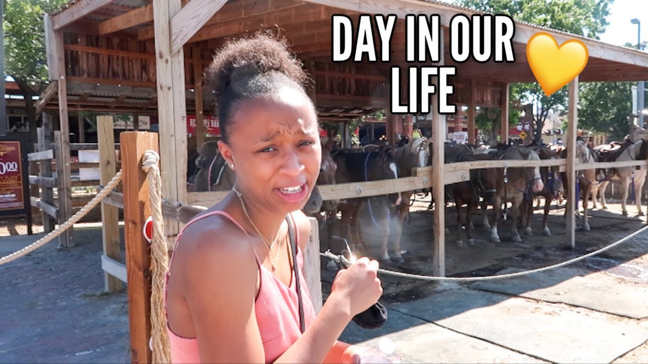 A Day In Our Life in Fort Worth, Texas | Destiny & Mitch