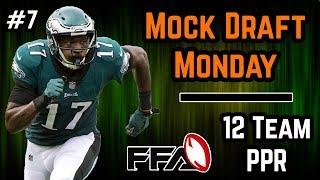 2018 Fantasy Football Mock Draft - 12 Team PPR