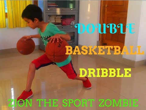 DOUBLE BASKETBALL DRIBBLE. PART - 3