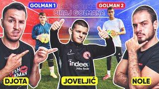 BIRAJ GOLMANA - ŠUTIRAJ PENAL w/ JOVELJIĆ (Eintracht Frankfurt)