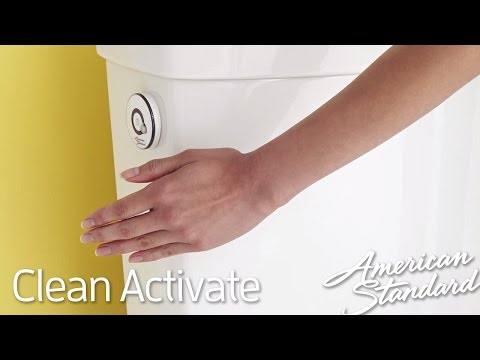 New Touchless Toilet - American Standard Clean ActiVate