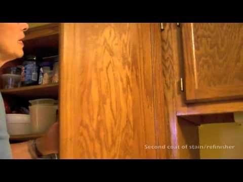 Refinish Kitchen Cabinets Or Furniture With Restorz-It - AFTER