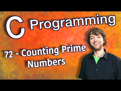 C Programming Tutorial 72 - Counting Prime Numbers (Part 1) thumbnail