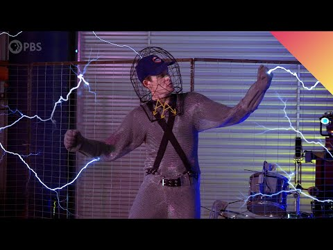 How Do Tesla Coils Work? Musical Tesla Coils in SLOW MOTION! (Feat. @Physics Girl )