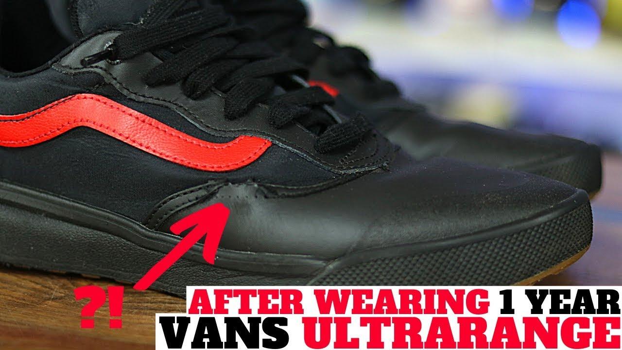 vans ultrarange for running