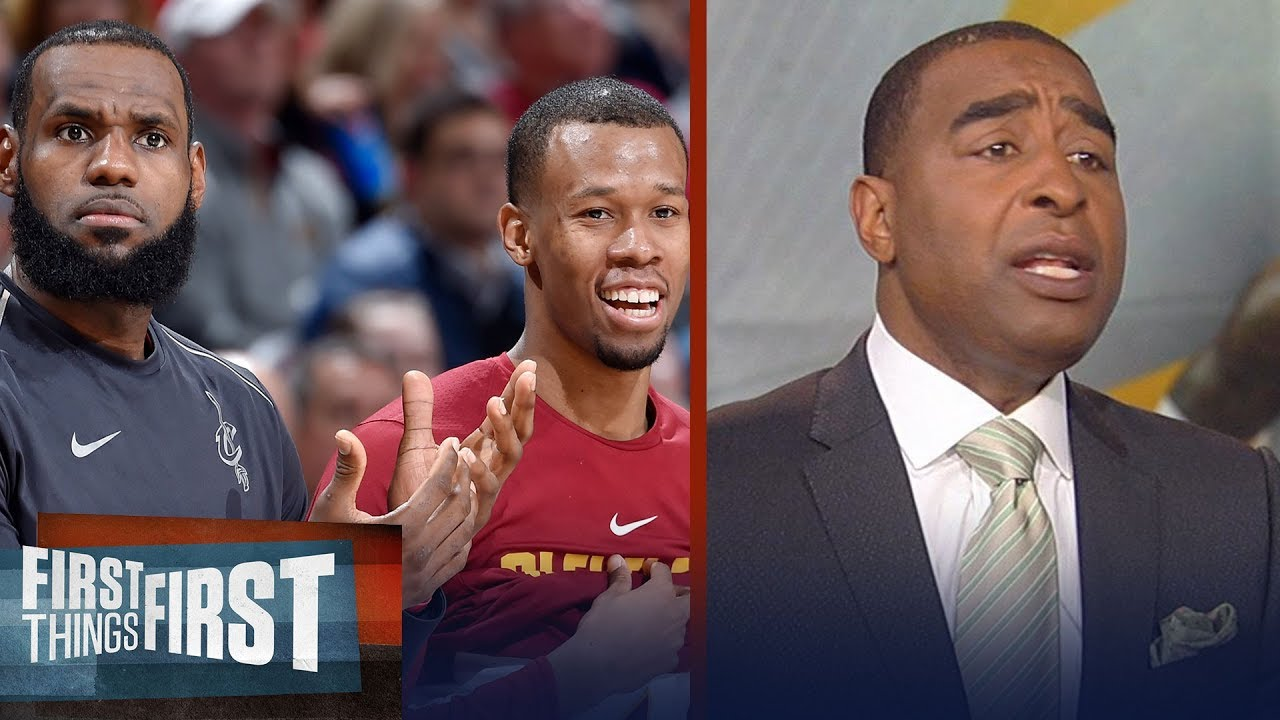 Cris Carter on why LeBron needs Rodney Hood in Game 3 of Cavs vs Warriors | NBA | FIRST THINGS FIRST