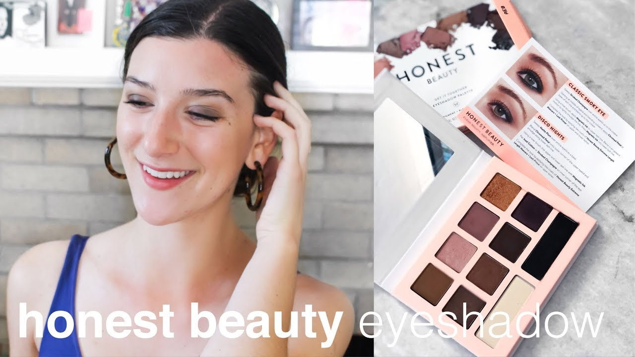 New Honest Beauty Eyeshadow Palette First Impressions And Demo