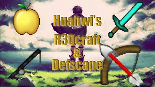 Minecraft PvP Texture Pack: Huahwi's Defscape and R3Dcraft Edit