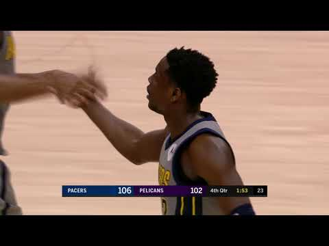 Indiana Pacers vs New Orleans Pelicans : February 4, 2019