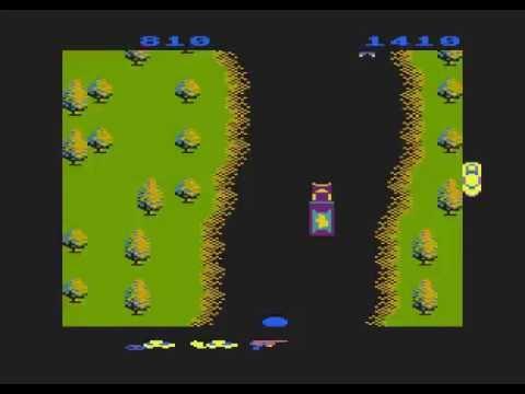 Atari 8-bit Spy Hunter (Sega) - invincible trick