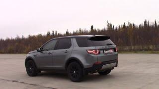 Самый мощный  Land Rover Discovery Sport, заезд с Мазда сх7