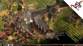 Age of Empires 3 - 4vs4 The Fight for Survival | Multiplayer Gameplay