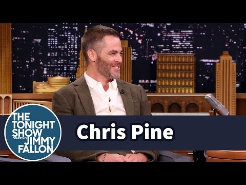 Chris Pine Harmonizes with His Star Trek Phaser