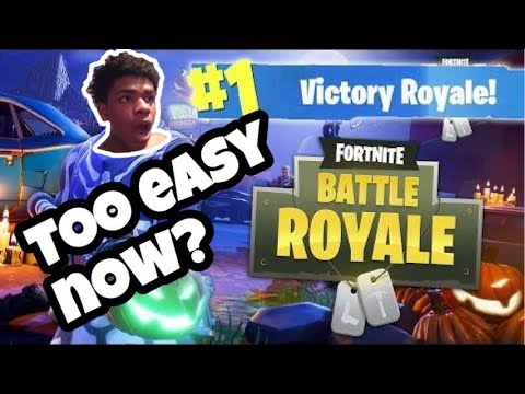 My Real Solo win Highlights (FORTNITE BATTLE ROYALE) V-BUCKS Giveaway soon