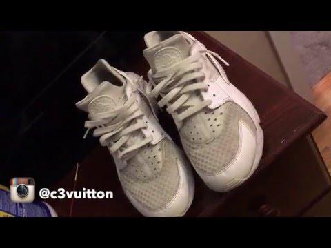 How to clean Nike Huarache's tutorial with Jason Markk