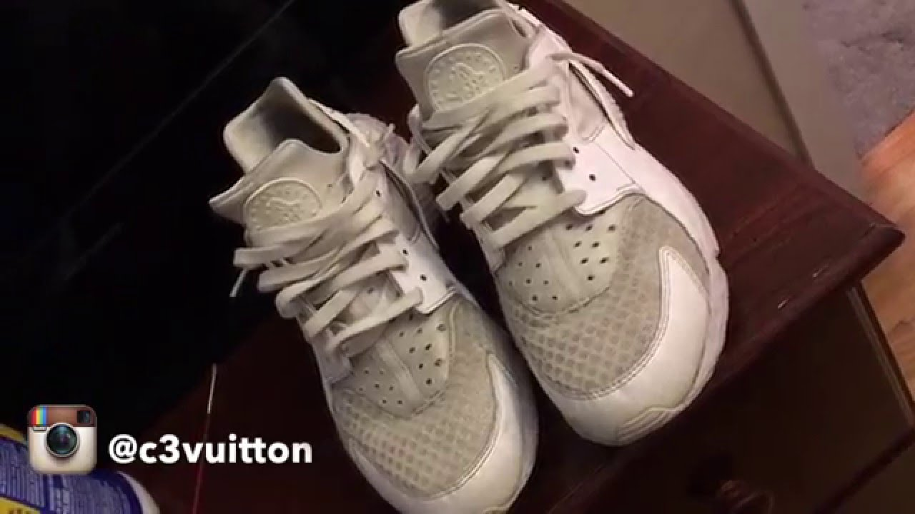 How to clean Nike Huarache's tutorial with Jason Markk
