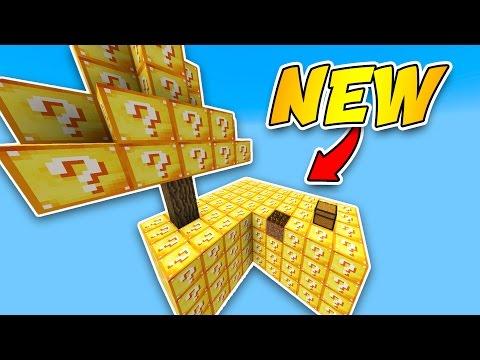 *NEW* LUCKY BLOCK SKYWARS 1v1v1v1 (Modded Minecraft) w/LandonMc & Friends