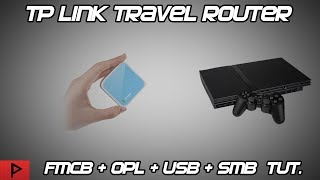 Share PS2 SMB Games From USB Using TP Link Wireless Travel Router Tutorial (2019)