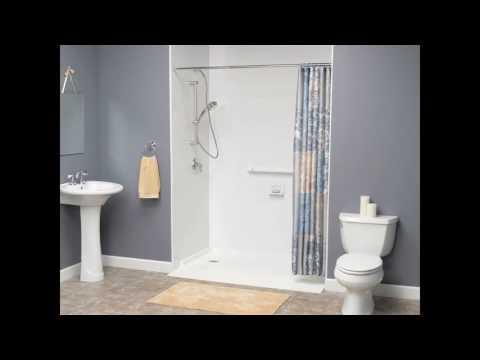 Ada bathroom shower designs