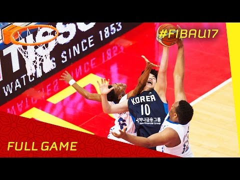 Dominican Republic v Korea - Full Game - 2016 FIBA U17 World Championship