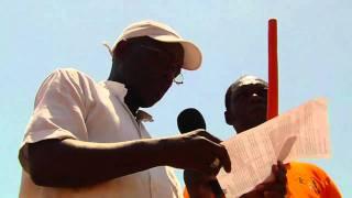 Claude Ameganvi fait adopter un texte d'ultimatum à Faure Gnassingbé [Marche du FRAC 12 Mars 2011]