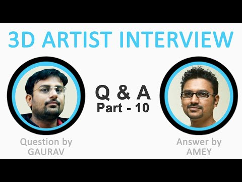 How To Apply For Abroad Jobs In 3d Animation L 3d Artist Interview Part 10