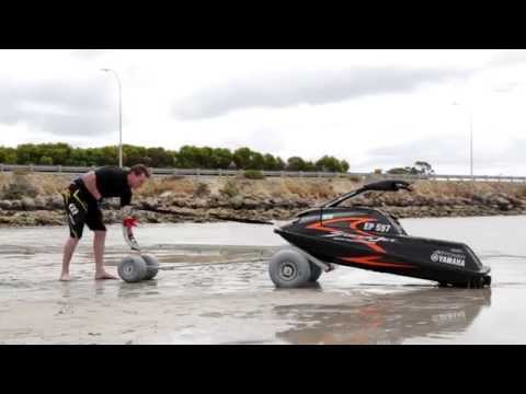Jet Hitch - Transporting, Launching and Retrieving You Standup Jetski With No Trailer