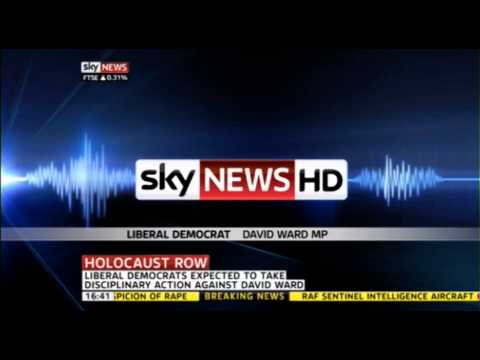 "David Ward MP Car Crash ""Jews"" Interview"