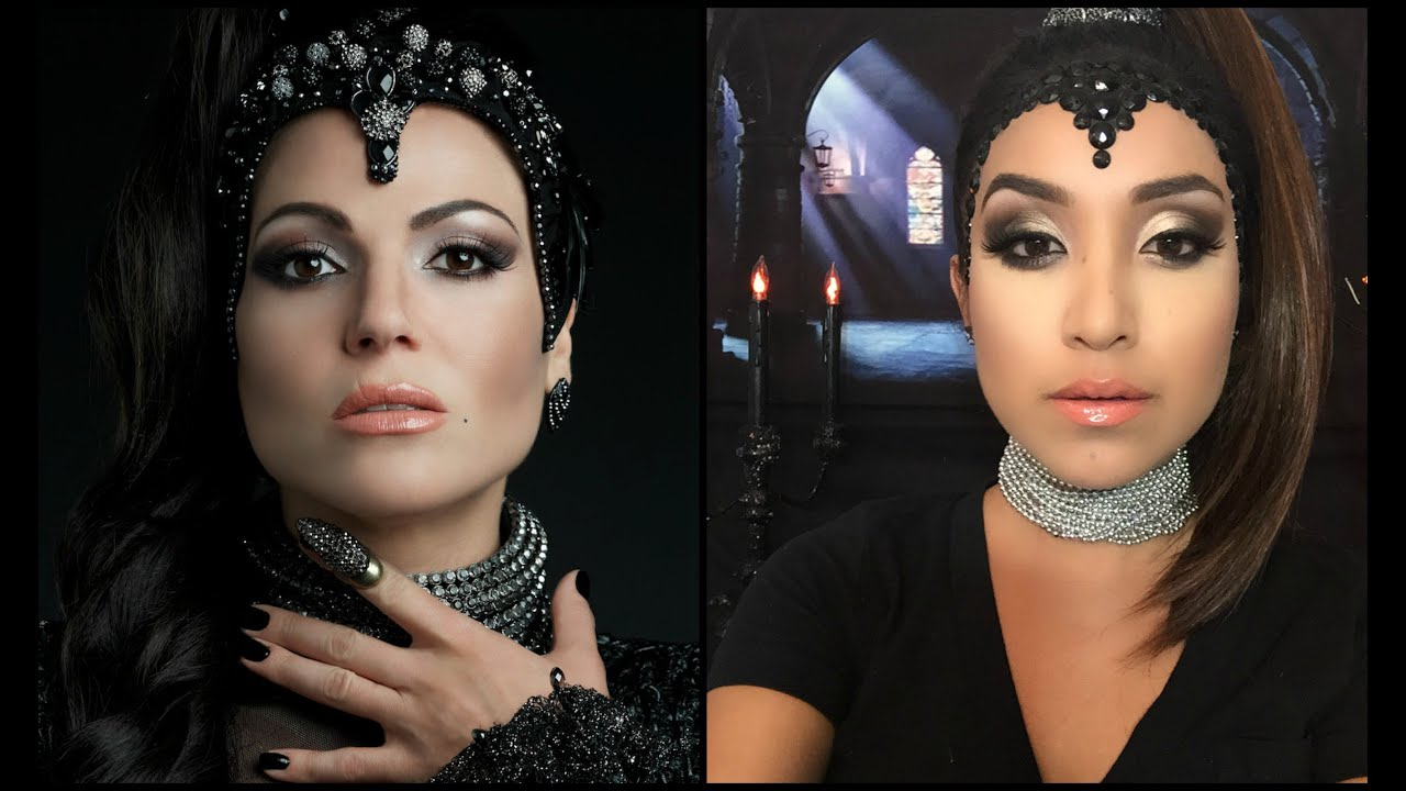 the evil queen tutorial from once upon a time halloween 2015 youtube