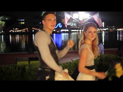 Body Painted Bride & Groom Intro | Jen The Body Painter